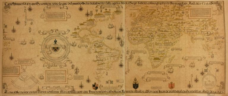 Carta universal en que se contiene todo lo que del mundo se ha descubierto fasta agora