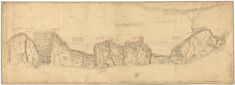 [Carte d'une partie de la côte de Cochinchine de Hué à Nha-Trang]