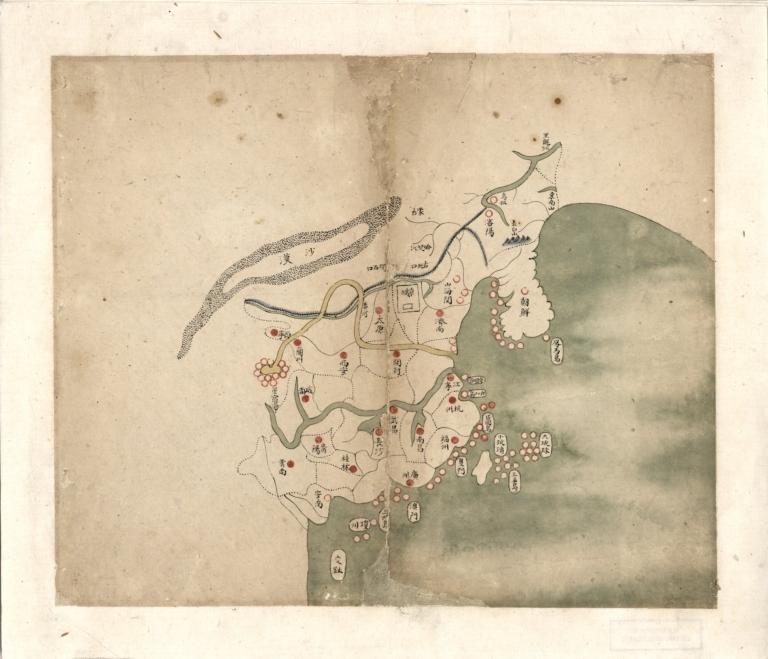 大清分省輿圖總圖 = Provincial atlas of the great Qing Dynasty