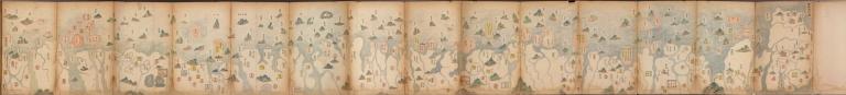萬里海防圖說 = Illustrated map of Qing Empire coastal fortifications. Part 2