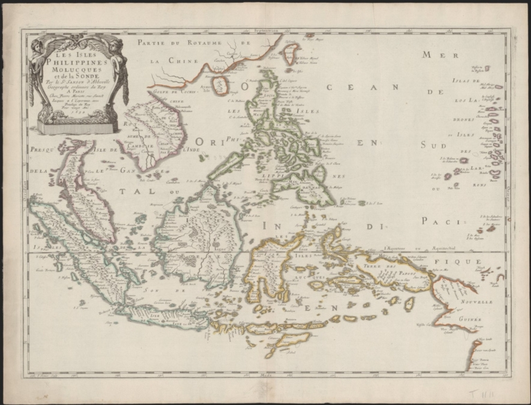 Les Isles Philippines Molucques et de La Sonde