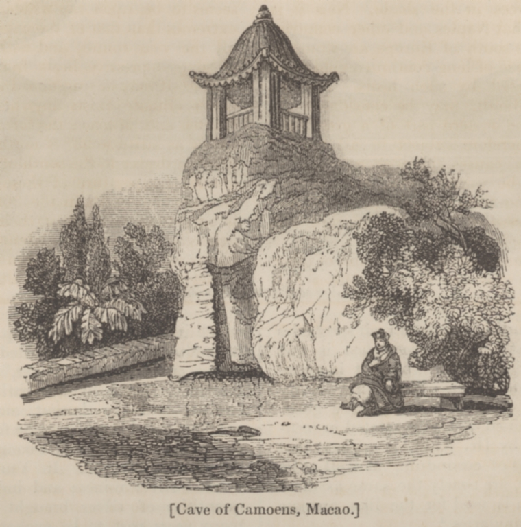 Cave of camoens, Macao