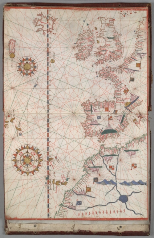 Northeastern Atlantic Ocean, including western Europe and northwestern Africa