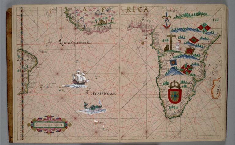 South Atlantic Ocean, southern Africa