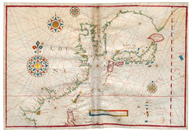 Nautical atlas of the world