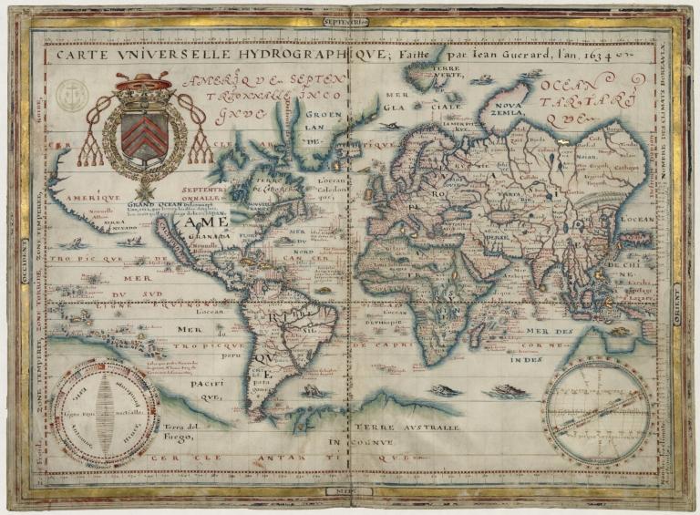 Carte universelle hydrographique
