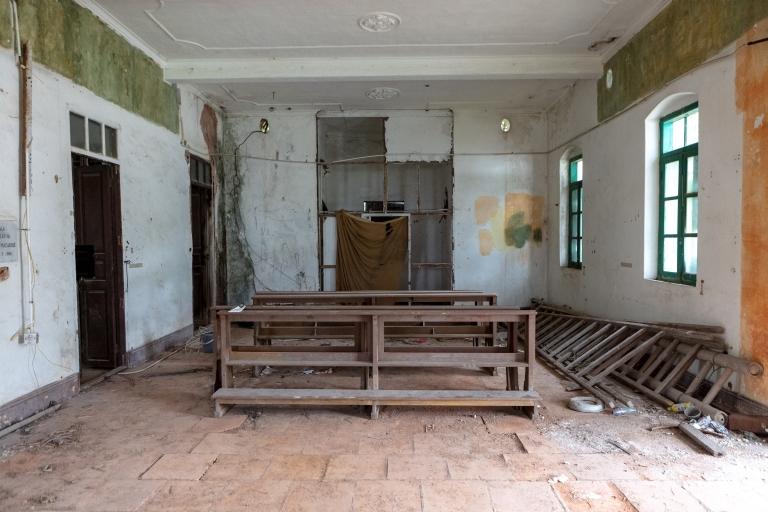 九澳聖母村廢棄的小教堂