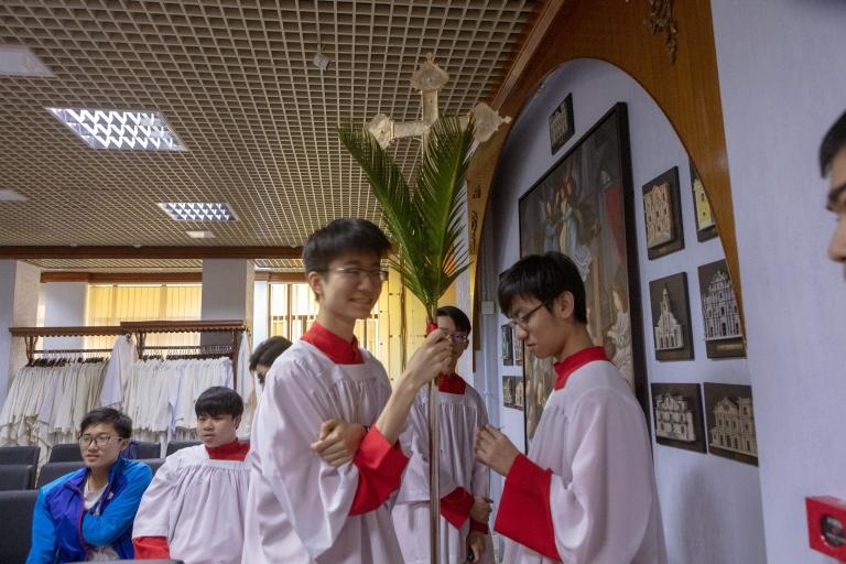 """主教堂""""聖枝主日"""""""