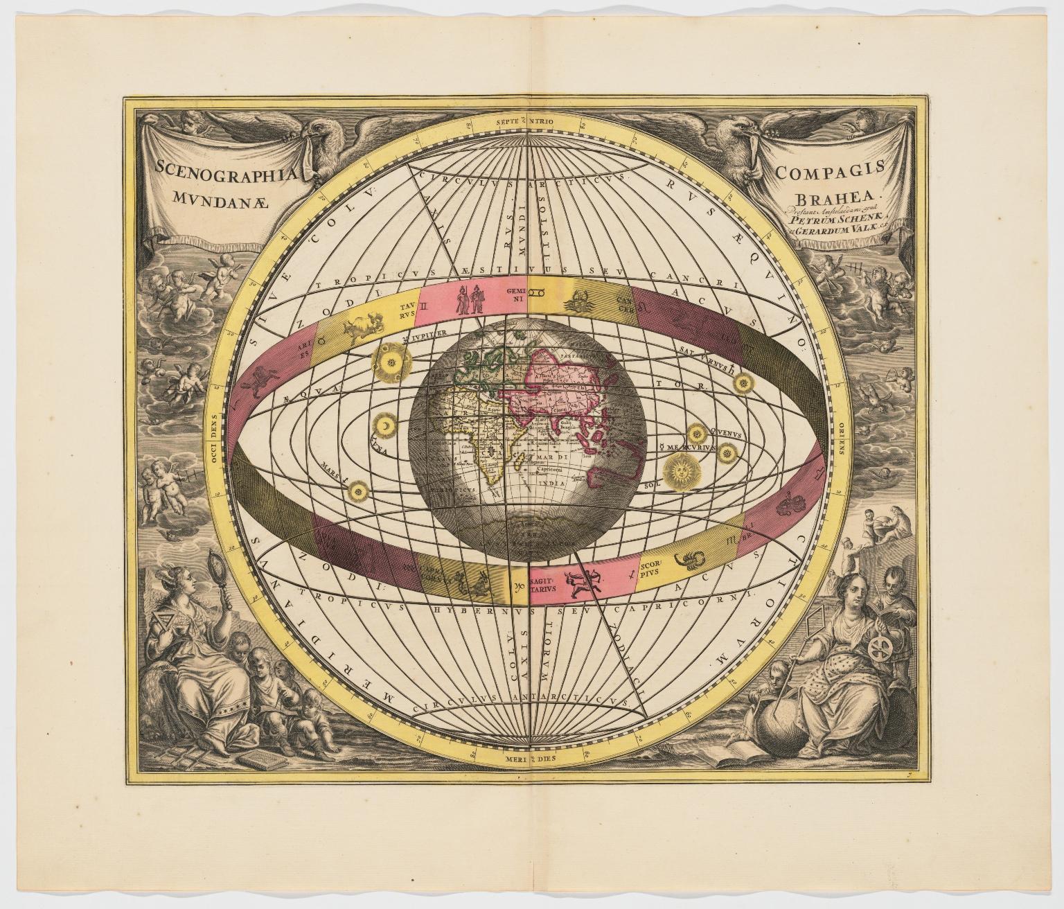 Scenographia compagis mundanae Brahea