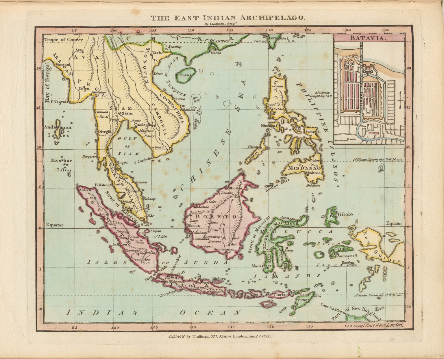 The east Indian archipelago