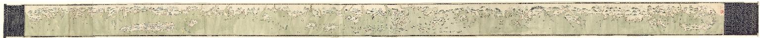 Carte manuscrite des côtes de Chine et de l'île Haïnan