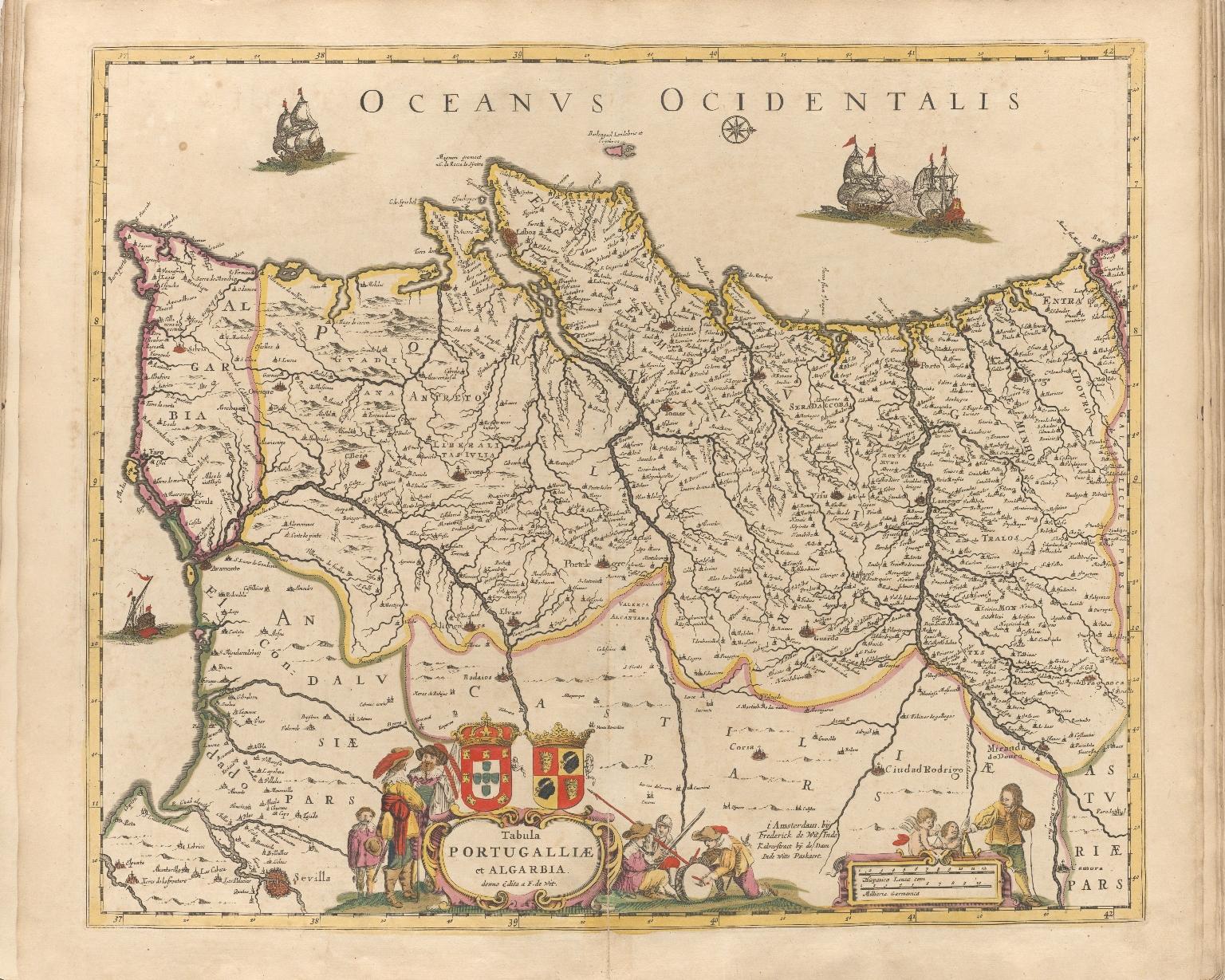 Tabula Portugalliae et Algarbia