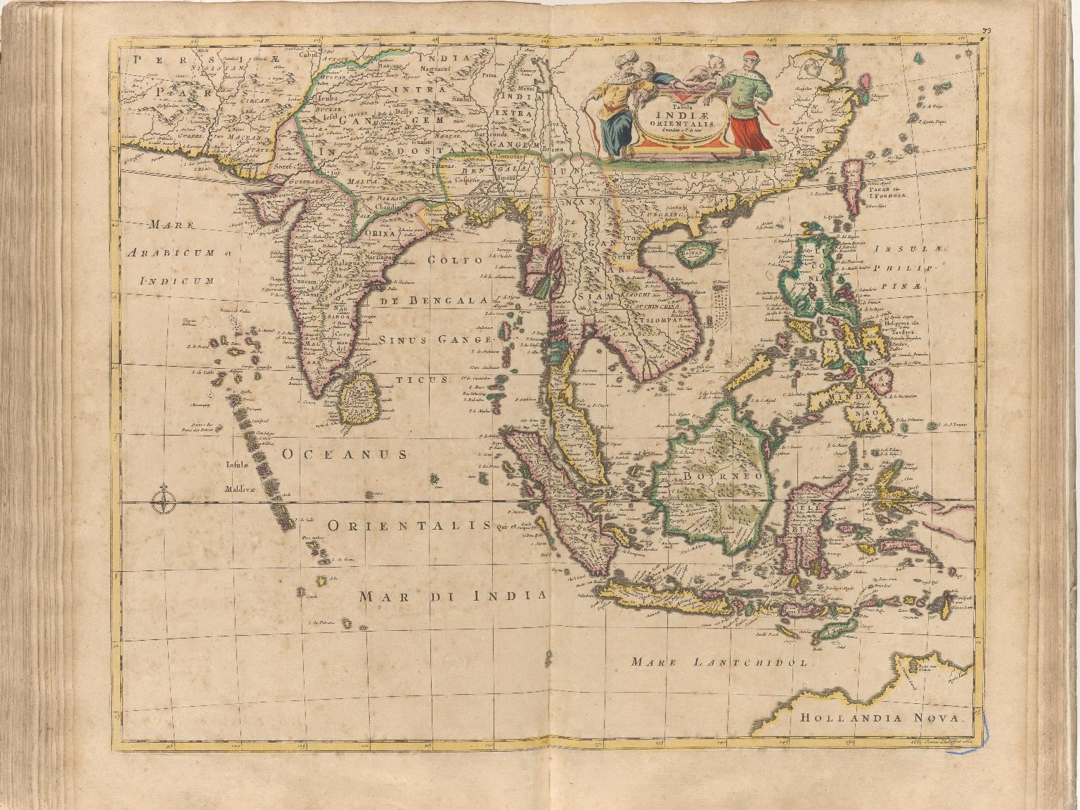 Tabula Indiae orientalis