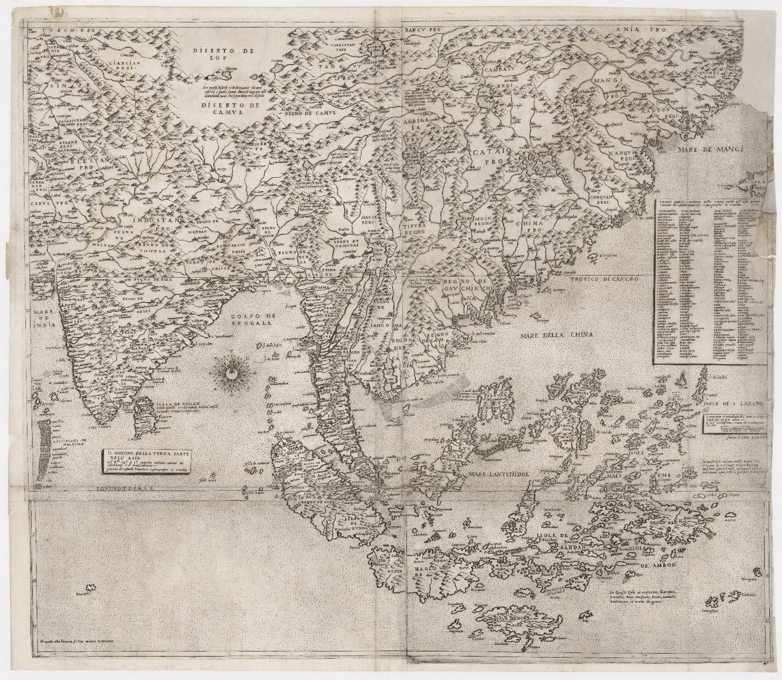 The Design of the Third Part of Asia