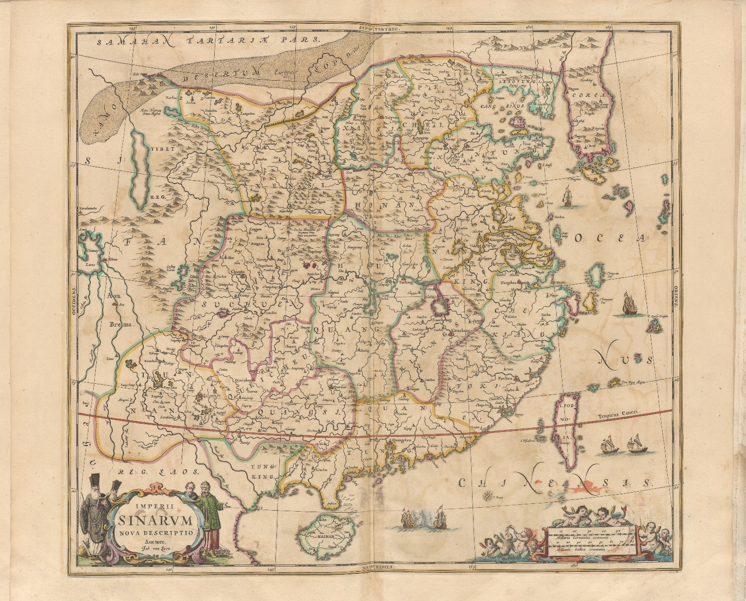 Imperii Sinarum nova descriptio