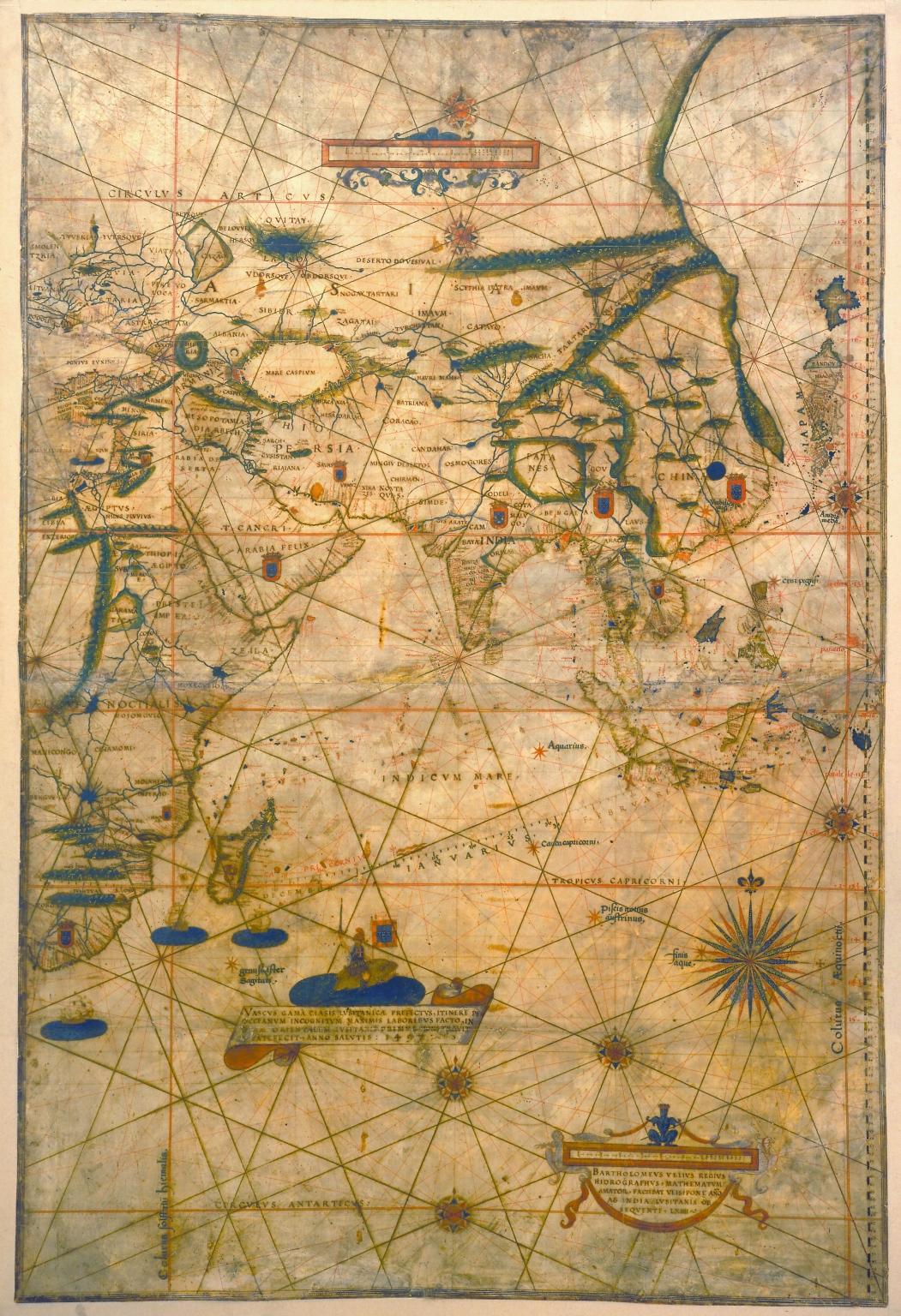 [Carte nautiche : Asia]