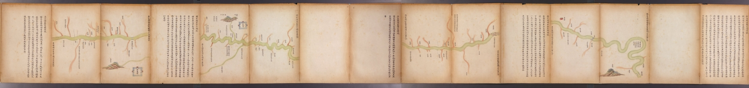 萬里海防圖說 = Illustrated map of Qing Empire coastal fortifications. Part 5
