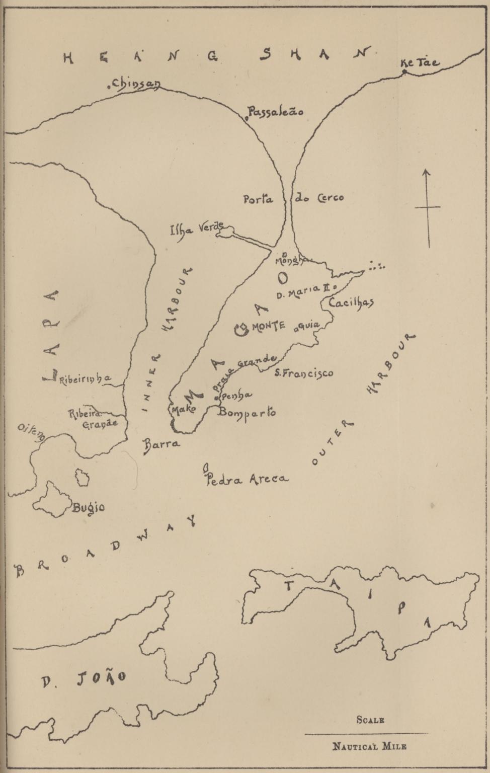 [澳門地圖]