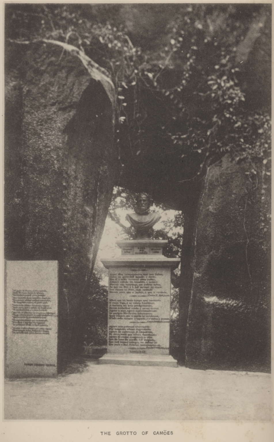 The grotto of Camoes