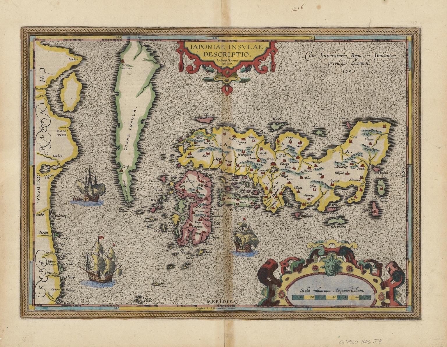 Japoniae insulae descriptio