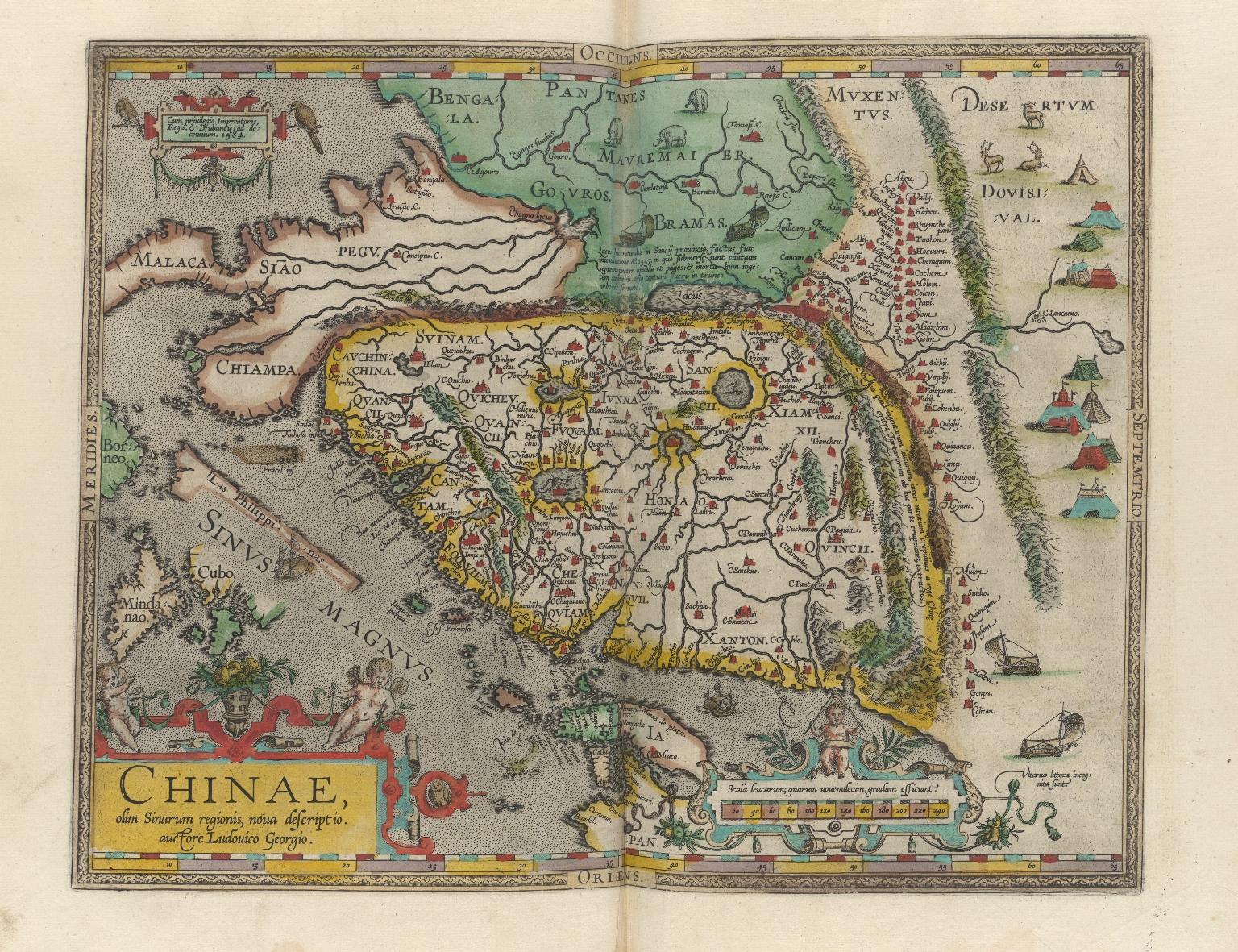 Chinae : olim Sinarum regionis, nova descriptio