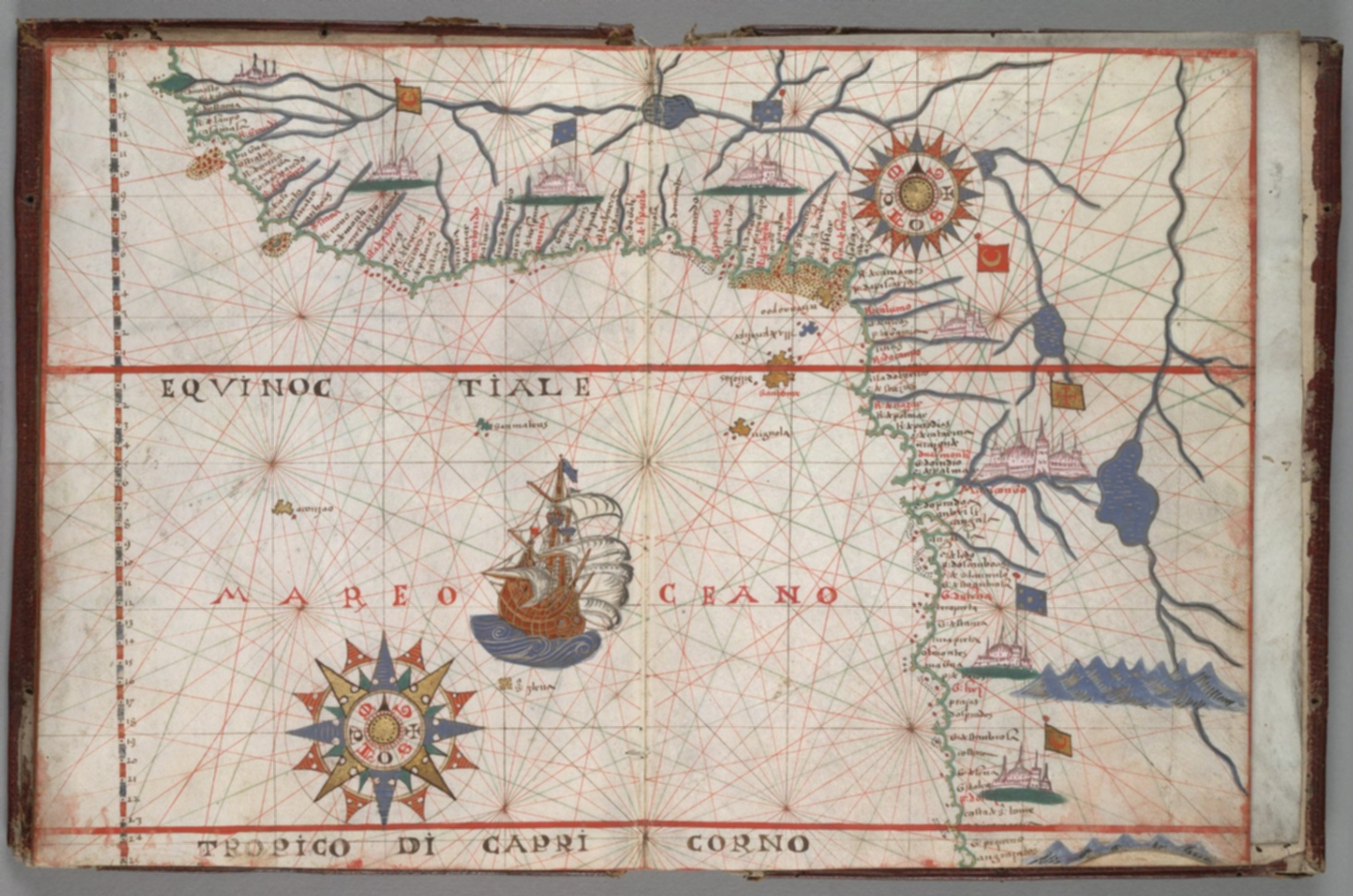 West central coast of Africa