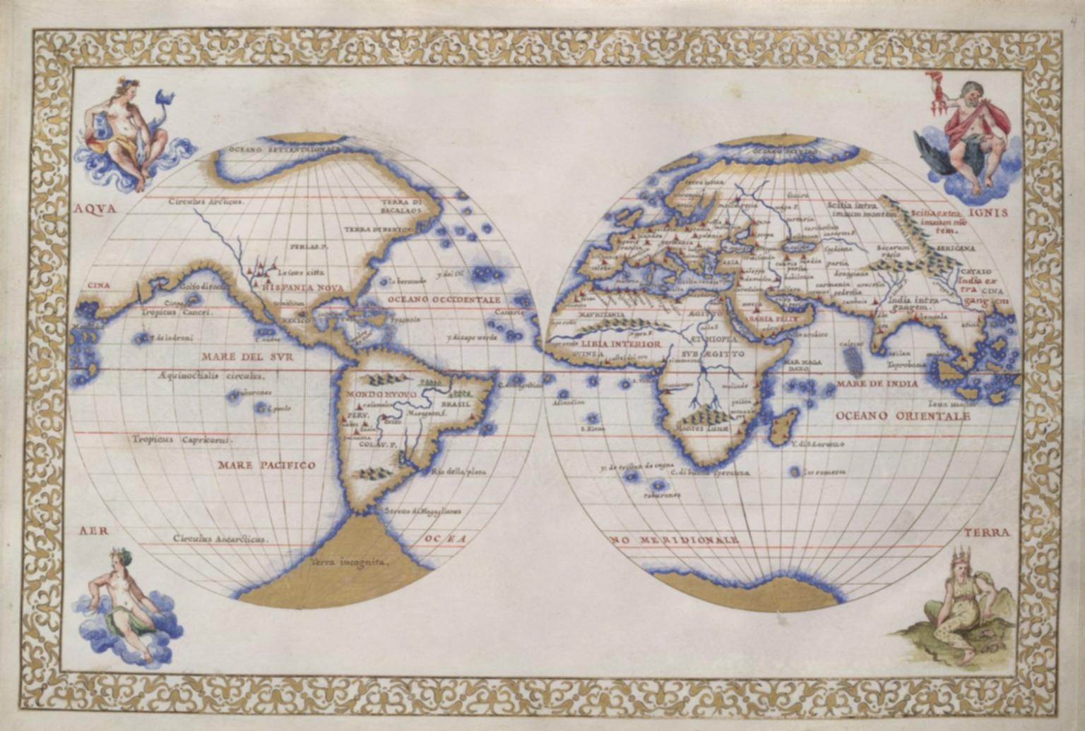 The two hemispheres