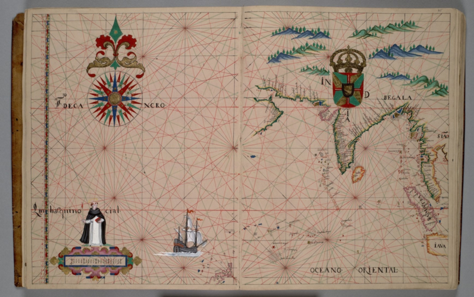 Northern Indian Ocean, India