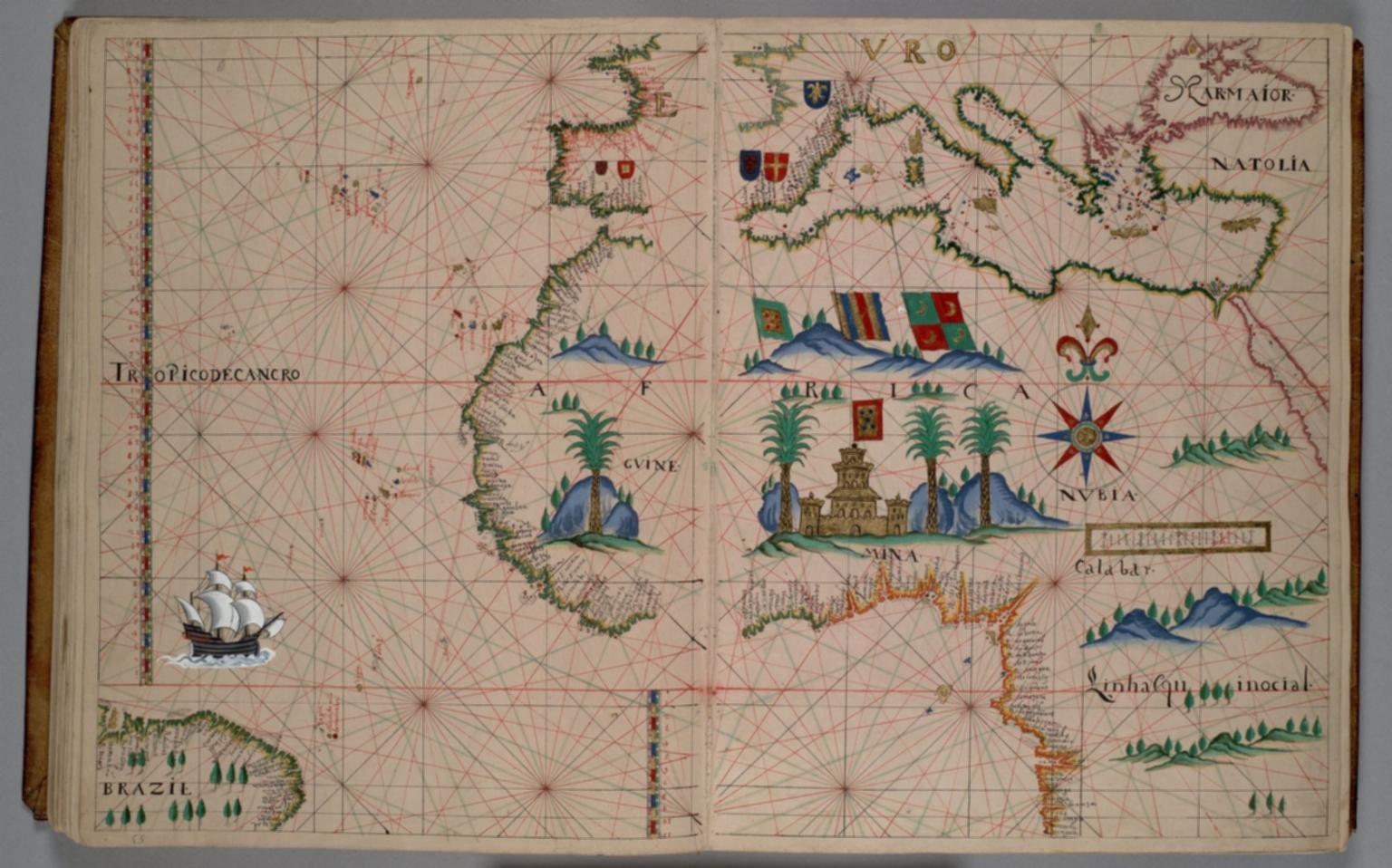 Northwest Africa, Mediterranean area, southern Europe