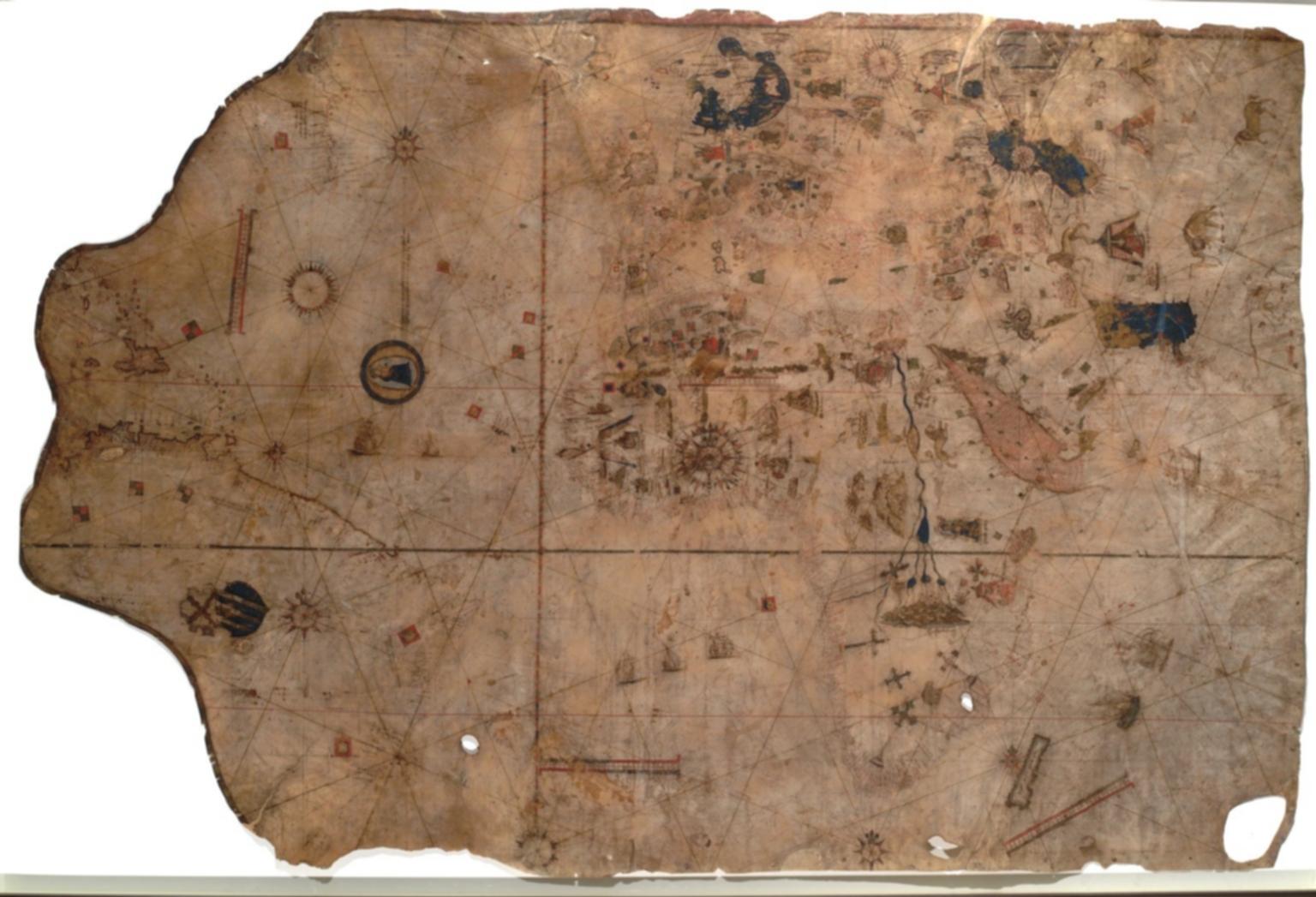 Vesconte Maggiolo, Portolan Chart