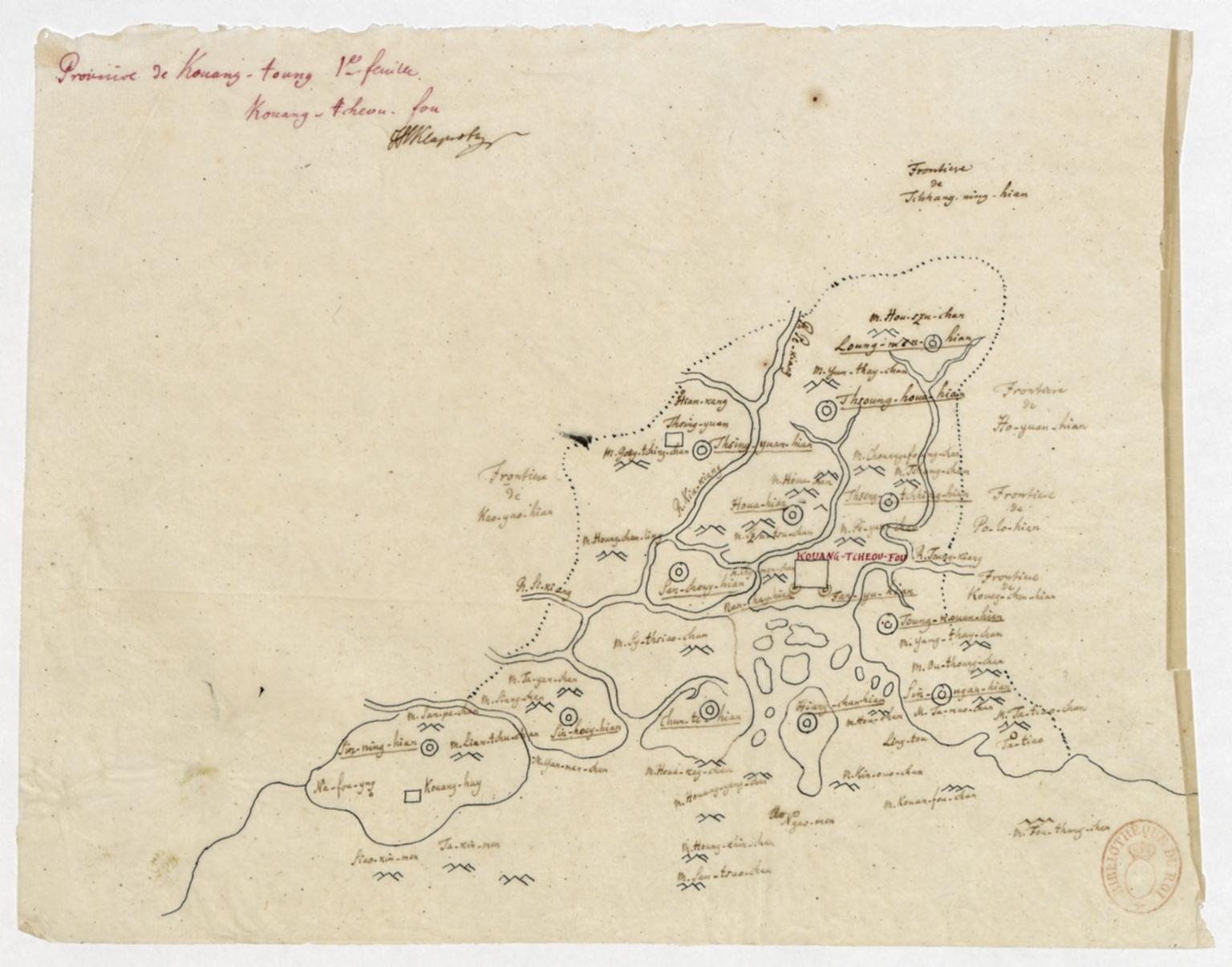 Province de Kouang-toung : Kouang-tcheou-fou