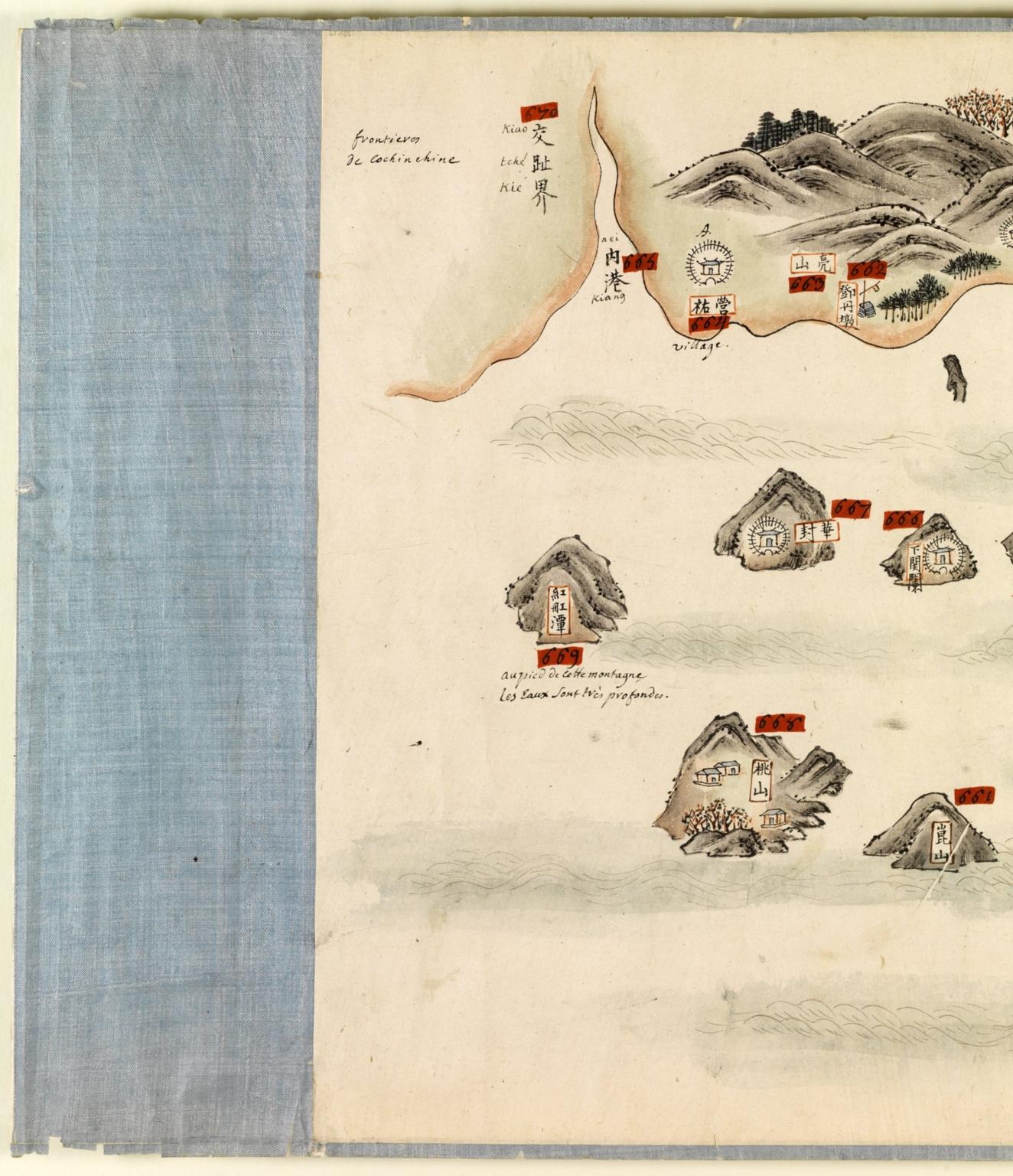 南中國海岸圖 = Carte des côtes sud de la Chine. Part 20