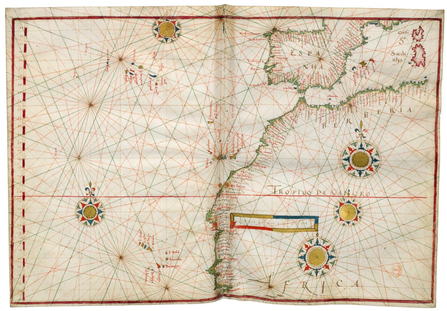Eastern Atlantic Ocean and Western Mediterranean Sea