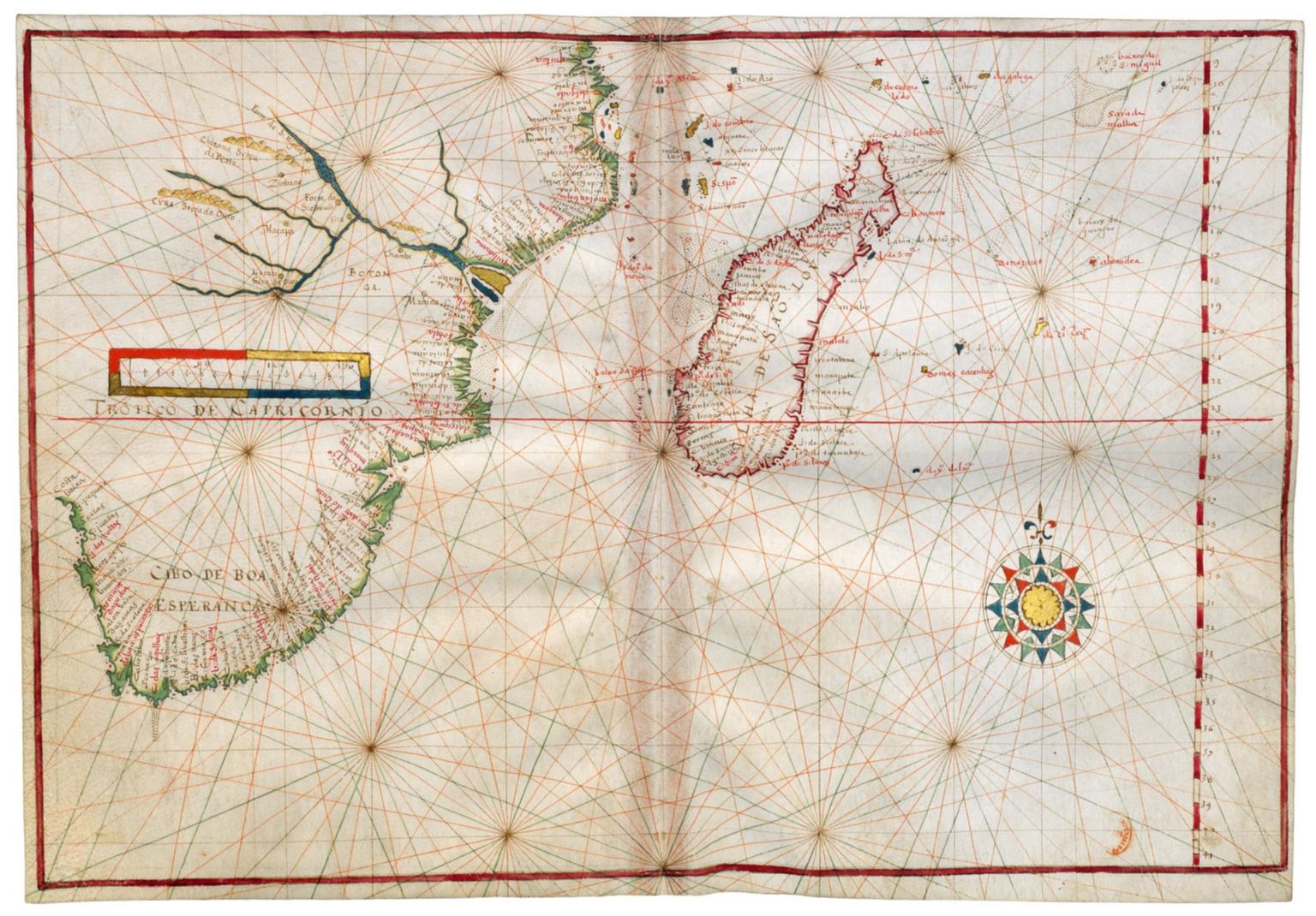 South West Indian Ocean and South East Atlantic Ocean