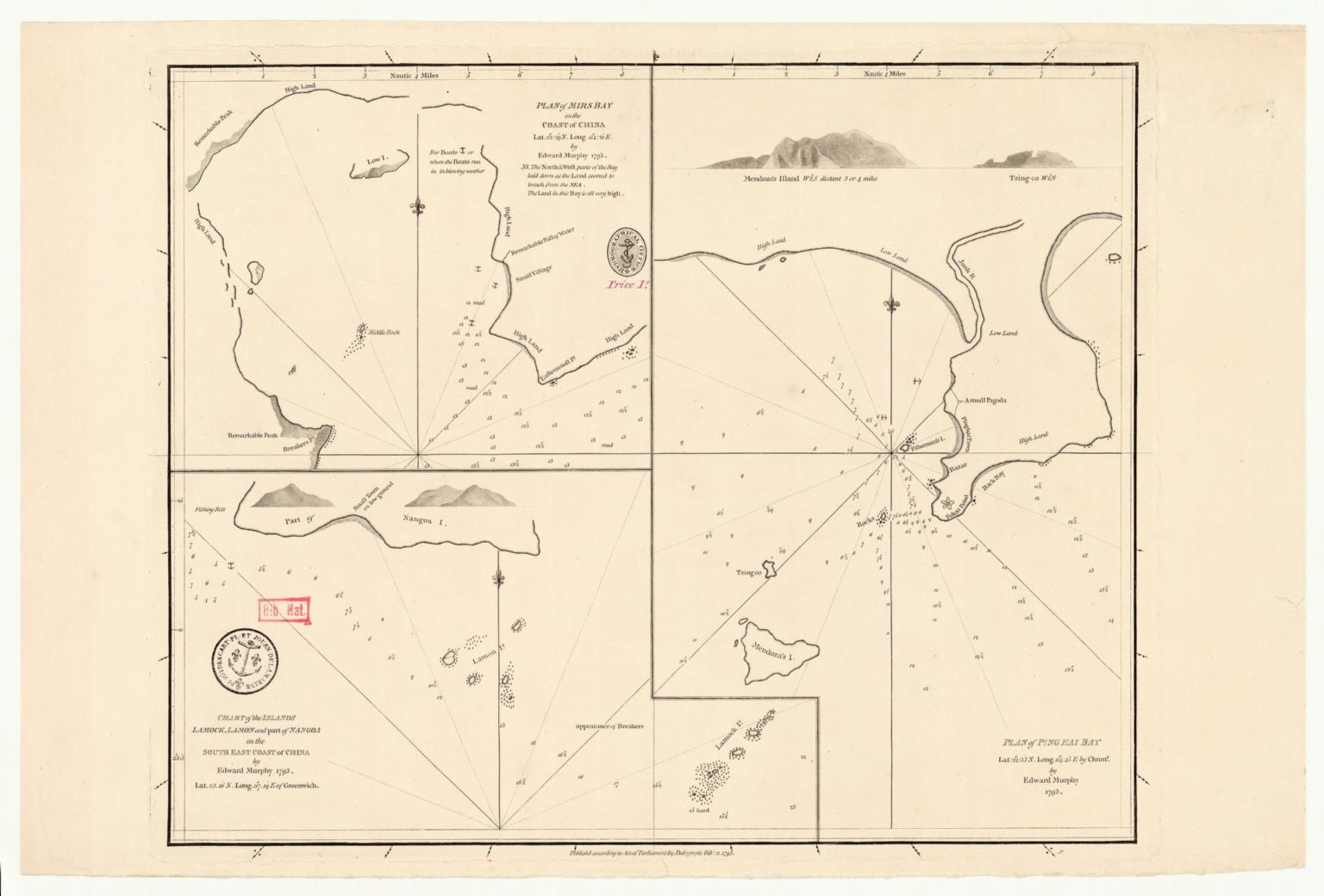 Plan of Ping Hai Bay