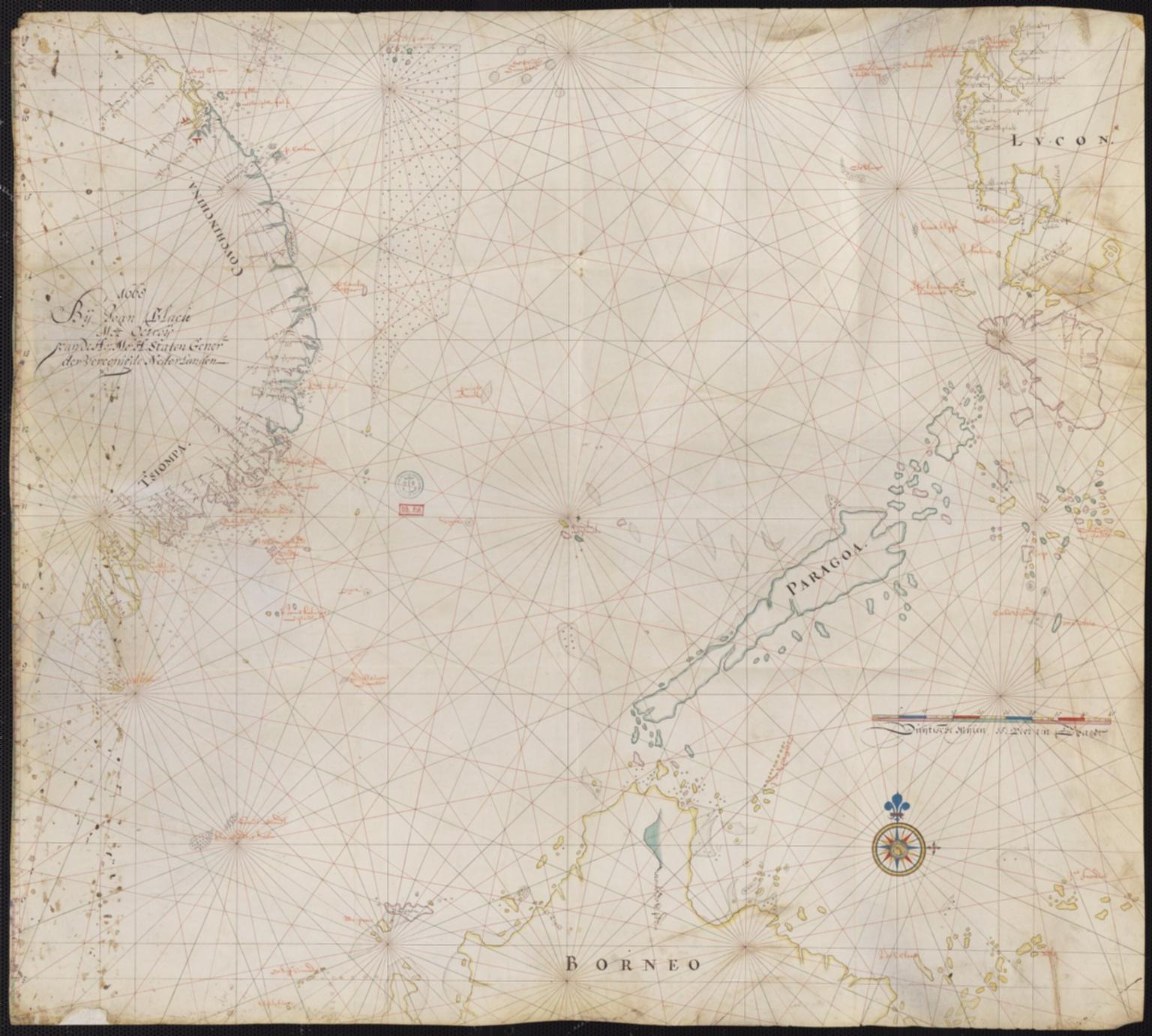 Carte de la Mer de Chine méridionale
