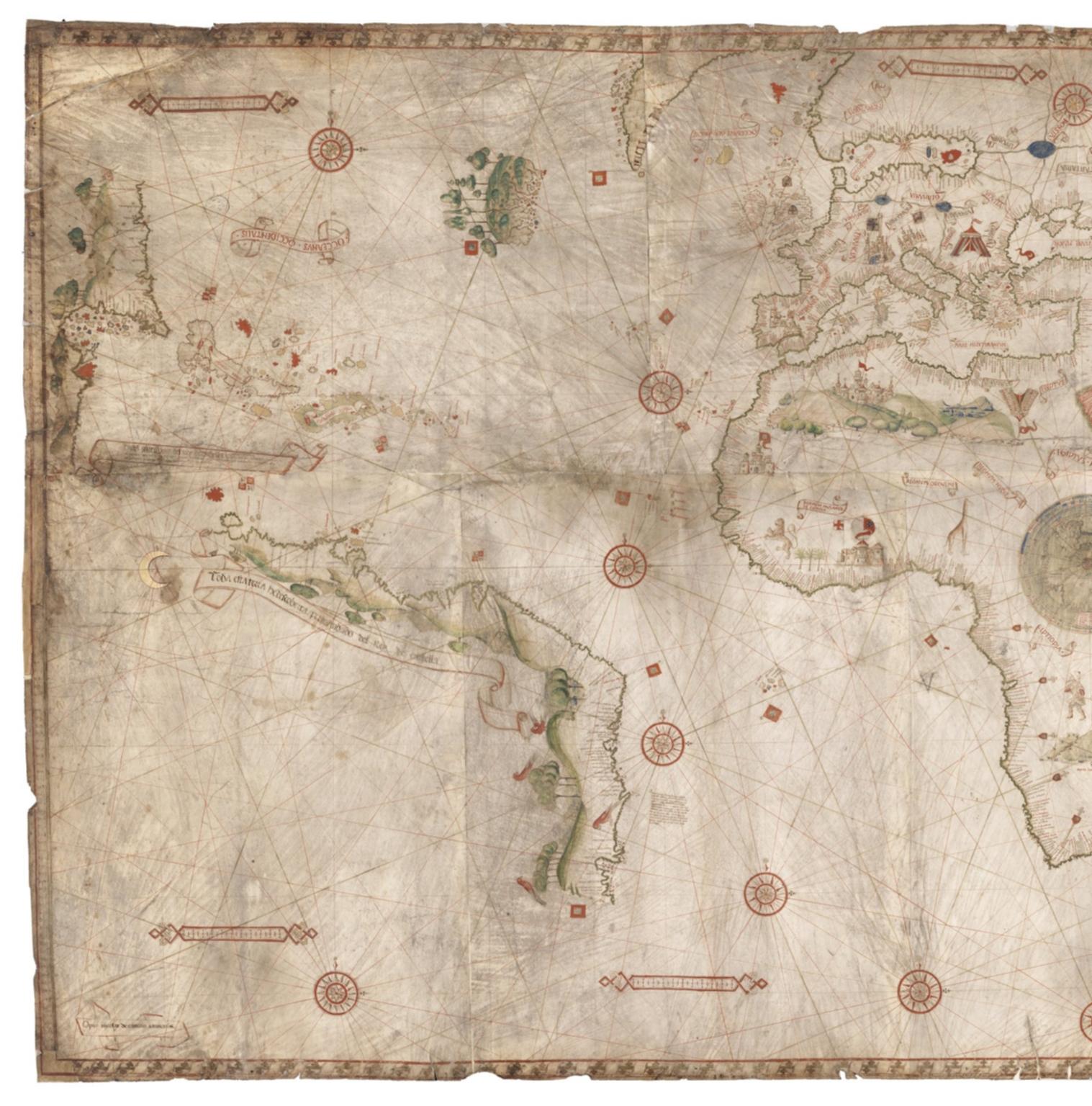 Planisphère nautique