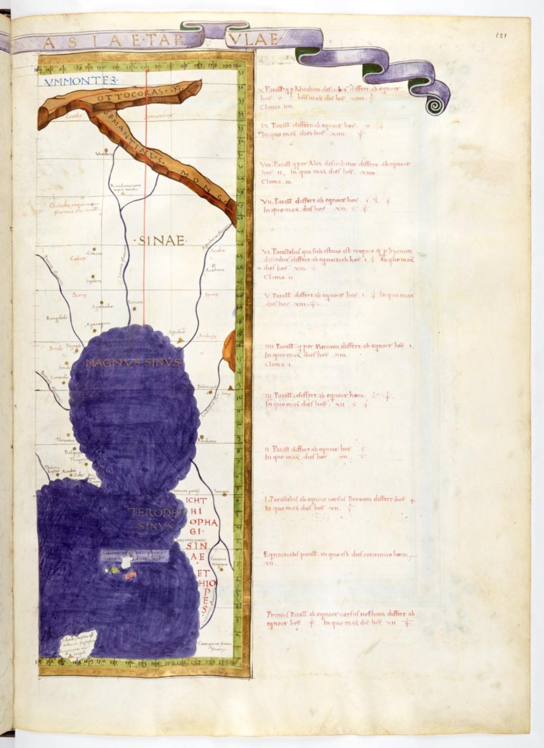 Claudius Ptolomaeus , Cosmographia , Jacobus Angelus interpres