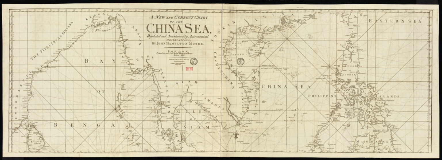 A new and correct chart of the China Sea