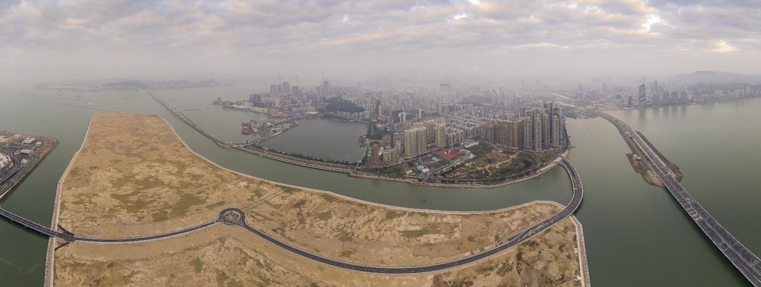 霧霾、新城A區及澳門半島