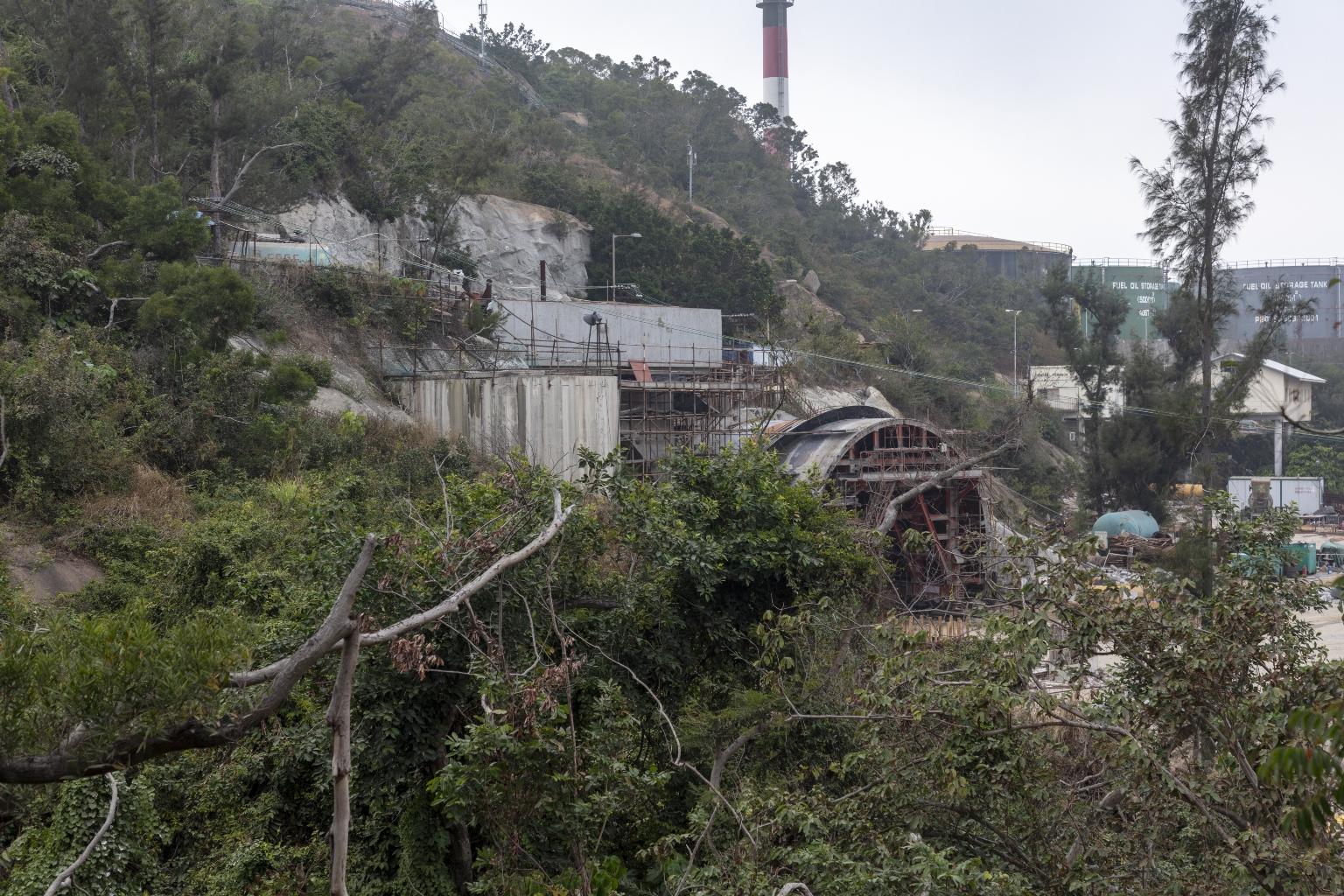 九澳隧道建設工程