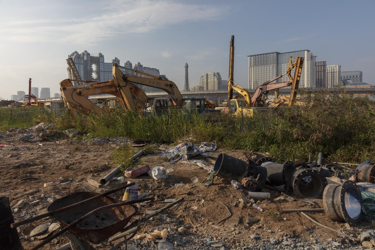 建設中的路氹城