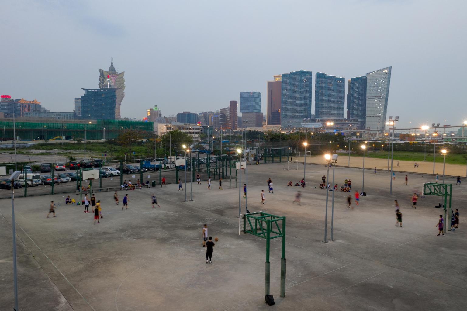 觀光塔街市政暑的體育設施