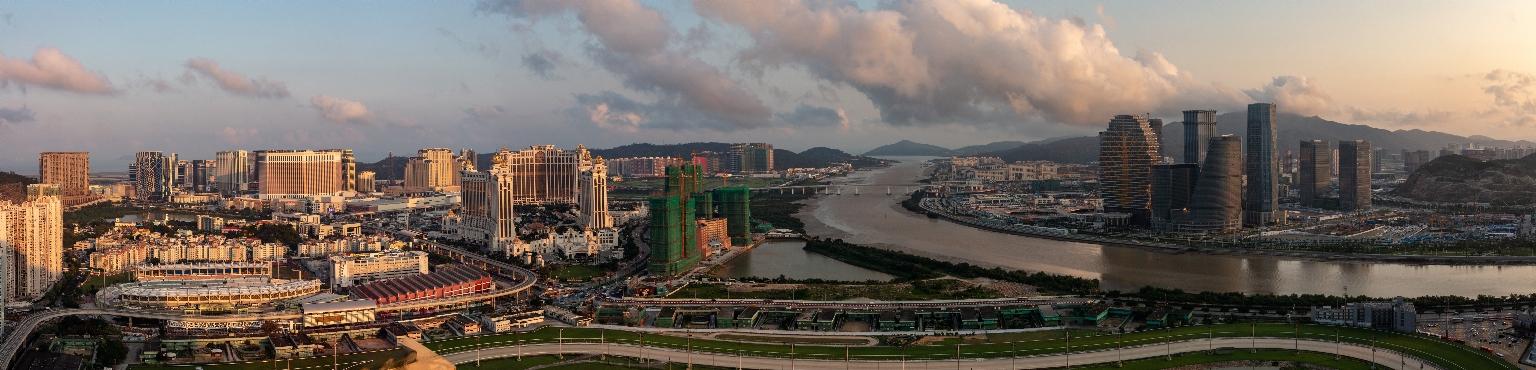 路氹城及橫琴新區全景