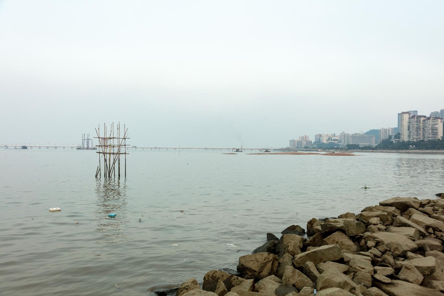 填海中的新城c區
