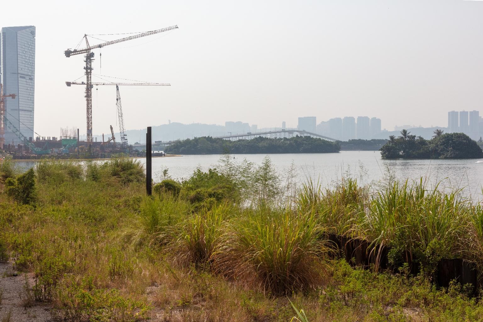 南灣湖及湖邊的建設項目